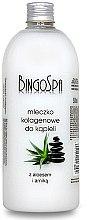 Düfte, Parfümerie und Kosmetik Kollagen-Bademilch mit Aloe und Arnika - BingoSpa Collagen Milk Bath With Aloe Vera And Arnica