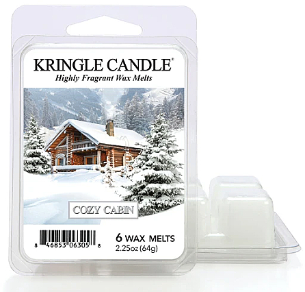 Duftwachs Cozy Cabin - Kringle Candle Wax Melt Cozy Cabin — Bild N1