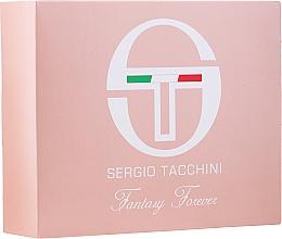 Düfte, Parfümerie und Kosmetik Sergio Tacchini Fantasy Forever - Duftset (Eau de Toilette 50ml + Kosmetiktasche 1St.)