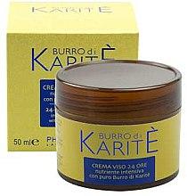 Düfte, Parfümerie und Kosmetik Pflegende Gesichtscreme - Phytorelax Laboratories Shea Butter 24-hours Face Cream