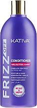 Düfte, Parfümerie und Kosmetik Feuchtigkeitsspendende ung glättende Haarspülung - Kativa Frizz Off Conditioner