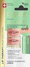 Düfte, Parfümerie und Kosmetik Intensiv regenerierender Lippenbalsam Nude Tint - Eveline Cosmetics Sos Expert Nude Tint Lip Balm