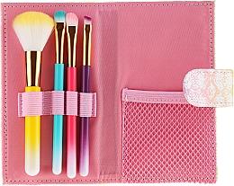 Düfte, Parfümerie und Kosmetik Make-up Pinselset in einem bunten Etui 4 St. - Avon