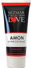 Düfte, Parfümerie und Kosmetik Duschgel für Haar und Körper mit Aphrodisiaka Amon - Sezmar Collection Love Amon Hair&Body Shower Gel