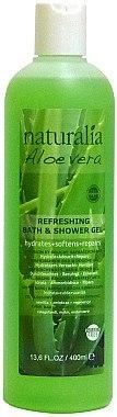 2in1 Bade- und Duschgel mit Aloe Vera - Naturalia Aloe Vera Refreshing Bath & Shower Gel — Bild N1