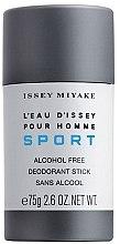 Düfte, Parfümerie und Kosmetik Issey Miyake L'Eau D'Issey Pour Homme Sport - Deostick