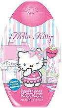 Düfte, Parfümerie und Kosmetik 2in1 Duschgel und Shampoo für Kinder Hello Kitty - Disney Hello Kitty Shower Gel