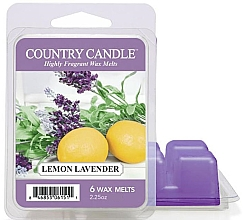 Düfte, Parfümerie und Kosmetik Duftwachs Lemon Lavender - Country Candle Lemon Lavender Wax Melts