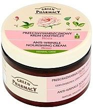 Düfte, Parfümerie und Kosmetik Nährende Anti-Falten Gesichtscreme mit Rosen - Green Pharmacy Anti-Wrinkle Vanishing Cream