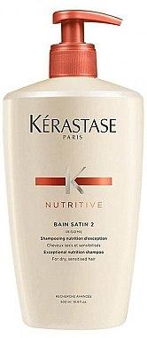 Shampoo - Kerastase Bain Satin 2 Nutritive Shampoo — Bild N1