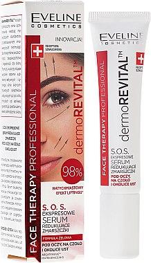 Gesichtsserum mit Lifting-Effekt - Eveline Cosmetics Therapy Professional SOS DermoRevital — Bild N4