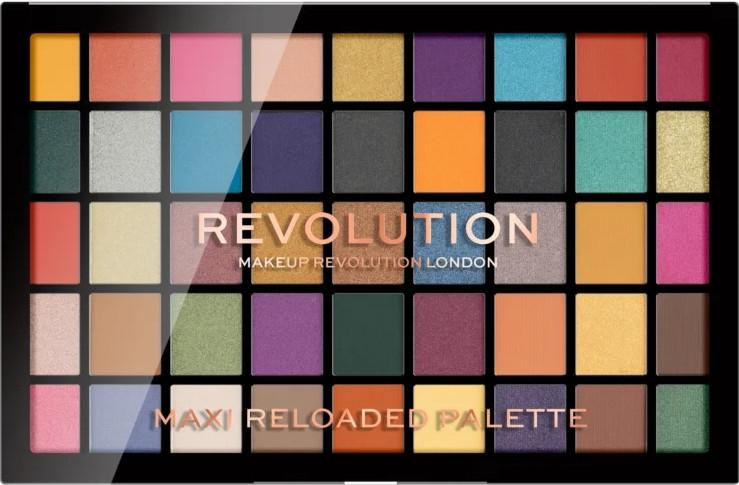 Lidschattenpalette mit 45 Farben - Makeup Revolution Maxi Reloaded Palette — Bild N1