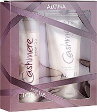 Haarpflegeset - Alcina Cashmere Hair Care Set (Shampoo 200ml + Haarspülung 150ml) — Bild N1