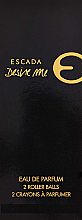 Düfte, Parfümerie und Kosmetik Escada Desire Me - Duftset (Eau de Parfum 2xRoll-on)