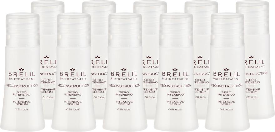 Intensiv regenerierendes Haarserum - Brelil Bio Treatment Reconstruction Intensive Serum — Bild N2
