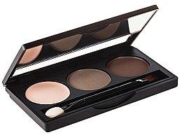 Düfte, Parfümerie und Kosmetik Lidschattenpalette - Hean Paddle Eyebrow Professional Set