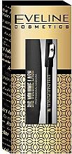 Düfte, Parfümerie und Kosmetik Makeup Set - Eveline Cosmetics (2in1Wimperntusche 10ml + Augenkonturenstift 1,2g)