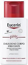 Düfte, Parfümerie und Kosmetik Feuchtigkeitsspendende Körperemulsion für trockene und empfindliche Haut - Eucerin Ph5 Emulsion Body Moisturizing