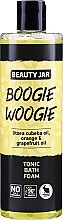 Düfte, Parfümerie und Kosmetik Tonisierender Badeschaum mit Litsea Cubeba-Öl, Orange und Grapefruitöl - Beauty Jar Boogie Woogie Tonic Bath Foam