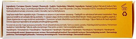 Nährende Seife mit Honig und Milch für normale und trockene Haut - Himalaya Herbals Cream Honey Soap — Bild N3