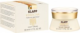 Düfte, Parfümerie und Kosmetik Reichhaltige Nachtcreme mit Aloe Vera und Jojobaöl - Klapp Kiwicha Night Cream