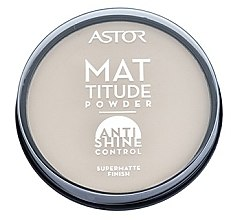Düfte, Parfümerie und Kosmetik Mattierender Puder - Astor Mattitude Anti Shine Powder