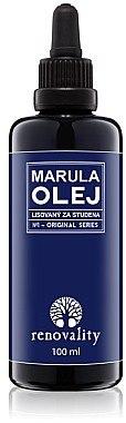 Kaltgepresstes Marulaöl für Gesicht und Körper - Renovality Original Series Marula Oil — Bild N1
