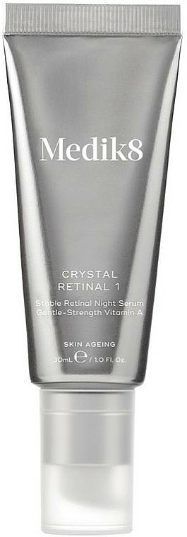 Creme-Serum für die Nacht mit Vitamin A - Medik8 Crystal Retinal 1