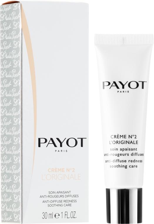 Beruhigende Gesichtscreme gegen diffuse Rötungen - Payot Creme N°2 L'Originale — Bild N1