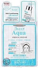 Düfte, Parfümerie und Kosmetik Feuchtigkeitsspendende 3-Schritt-Gesichtsmaske - Bergamo 3-Step Aqua Mask Pack
