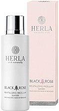 Düfte, Parfümerie und Kosmetik Revitalisierendes Mizellenwasser zum Abschminken - Herla Black Rose Revitalizing Micellar Water