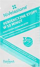 3-stufige Fußpflege mit Paraffin - Farmona Nivelazione Paraffin Foot Treatment (Fußbadflüssigkeit 20ml, Fußpeeling 8g, Fußmaske mit Paraffin 8ml, Socken) — Bild N5