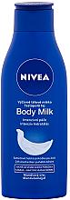 Düfte, Parfümerie und Kosmetik Nährende Körpermilch für trockene Haut mit Mandelöl - Nivea Body Milk