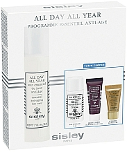 Düfte, Parfümerie und Kosmetik Gesichtspflegeset - Sisley All Day All Year Discovery Program (Gesichtscreme 50ml+ Make-up-Entferner 30ml + Gesichtsmaske 10ml + Gesichtsserum 5ml)