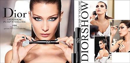 Wimperntusche - Dior Diorshow Pump'n'Volume Mascara — Bild N2