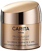 Düfte, Parfümerie und Kosmetik Anti-Aging Gesichtscreme mit Dreifach-Gold-Vital-Komplex - Carita Progressif Anti-Age Global Perfect Face Cream