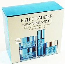 Gesichtspflegeset - Estee Lauder New Dimension Set (Creme/10ml + Serum/7ml + Maske/15ml) — Bild N1