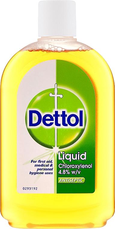 Antiseptisches Desinfektionsmittel mit 4,8% Chloroxylenol und Kiefernöl - Dettol Liquid Antiseptic