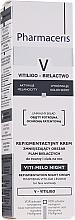 Düfte, Parfümerie und Kosmetik Ausgleichende Repigmentierungscreme für die Nacht zur Minimierung von Vitiligo-Läsionen für Gesicht und Körper - Pharmaceris V Vito-Melo Night Cream