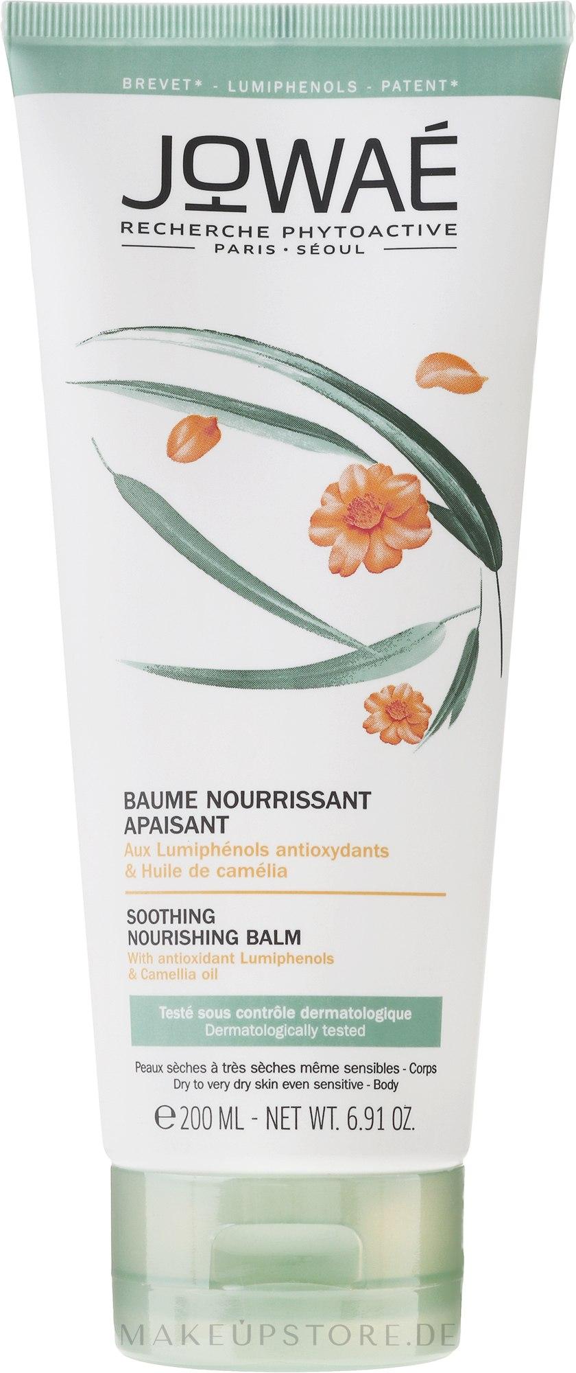 Beruhigender nährender Körperbalsam für sehr trockene und empfindliche Haut - Jowae Soothing Nourishing Body Balm — Bild 200 ml