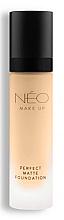 Düfte, Parfümerie und Kosmetik Mattierende Foundation - NEO Make Up Perfect Matte Foundation