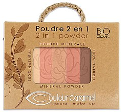 Düfte, Parfümerie und Kosmetik Mineralpuder - Couleur Caramel Essence De Provence 2in1 Powder