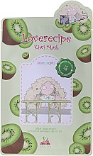 Cellulose-Tuchmaske mit Kiwi-Extrakt - Sally's Box Loverecipe Kiwi Mask — Bild N1
