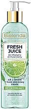 Düfte, Parfümerie und Kosmetik Mizellen-Gesichtswaschgel mit Detox-Effekt - Bielenda Fresh Juice Detox Lime