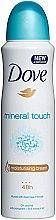Düfte, Parfümerie und Kosmetik Deospray Antitranspirant - Dove Mineral Touch Deo Spray