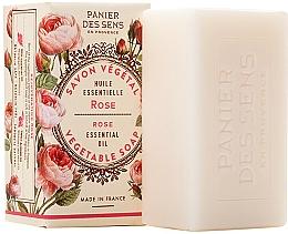 Düfte, Parfümerie und Kosmetik Extra sanfte Pflanzenseife mit Rosenöl - Panier des Sens Rose Extra-Gentle Vegetable Soap