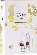 Düfte, Parfümerie und Kosmetik Körperpflegeset - Dove Relaxing Care Gift Set (Duschgel 250ml + Deospray 150ml)