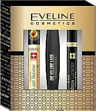 Düfte, Parfümerie und Kosmetik Makeup Set (Wimperntusche/10ml + Augenbrauen-Concealer/9ml + Wimpernserum/10ml) - Eveline Cosmetics