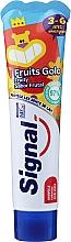 Düfte, Parfümerie und Kosmetik Zahnpasta für Kinder mit Fruchtgeschmack 3-6 Jahre - Signal Kids Fruit Flavor Toothpaste