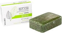 Düfte, Parfümerie und Kosmetik Regulierende Seife mit Salbei für jeden Hauttyp - Styx Naturcosmetic Basic Soap With Sage